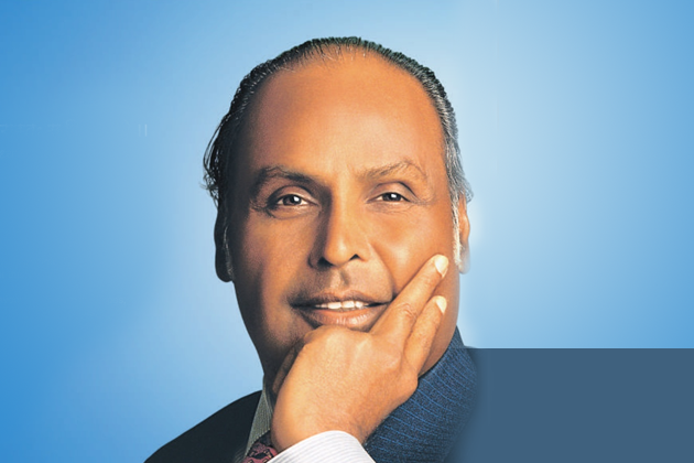 Dhirubhai Ambani - Founder of  Reliance Industries