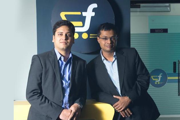 Sachin Bansal and Binny Bansal's - Flipkart Founders