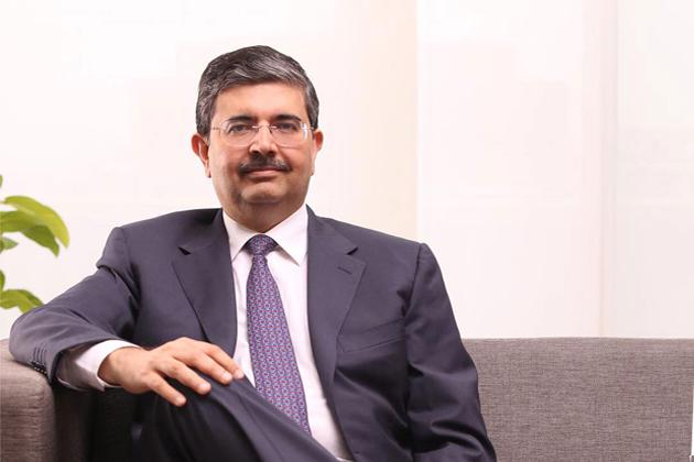Uday Kotak-  The Vice Chairman and Managing Director of Kotak Mahindra Bank.
