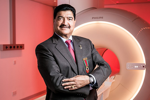 Dr B.R.Shetty-The CEO and the Managing Director of the Medical Centre Group of Companies