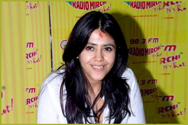 Ekta Kapoor-The Joint Managing Director and Creative Director of Balaji Telefilms