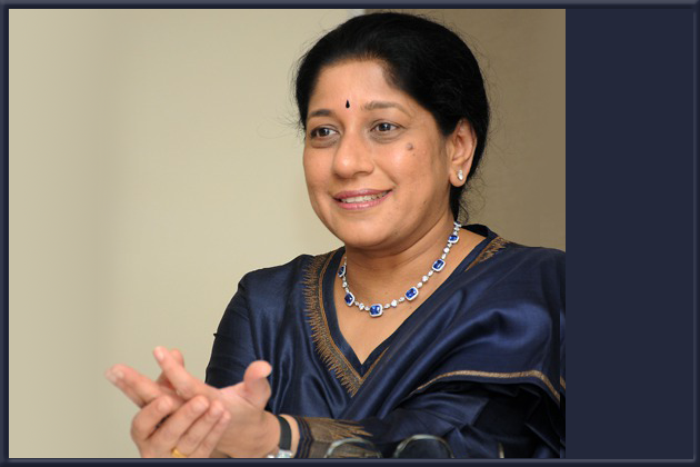 Mallika Srinivasan-The Chairman and the CEO of Tractors and Farm Equipment Ltd