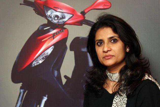 Sulajja Firodia Motwani-The Joint Managing Director of Kinetic Motor Company Ltd